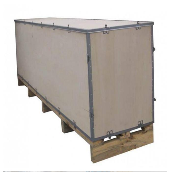大型钢带木箱
